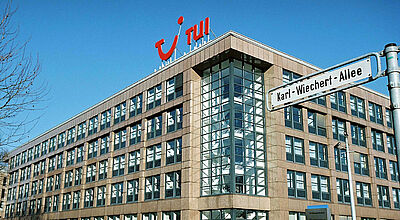 TUI-Zentrale in Hannover